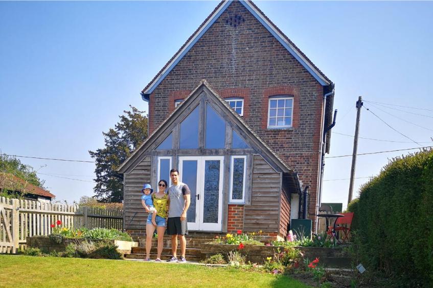 Rhianna and Theo's home